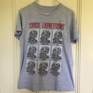 Other - Halloween Zombie Expressions T-Shirt